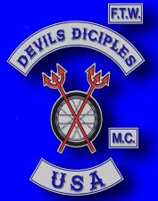 Devils Diciples MC Patch Logo