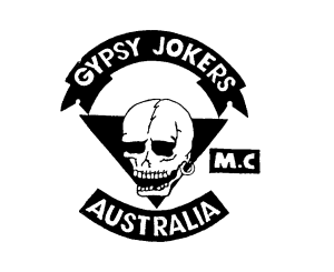 Gypsy Joker MC Patch Logo Australia