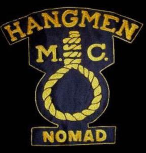 Hangmen MC Nomad patch logo