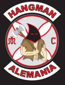 Hangmen MC Patch Logo Original