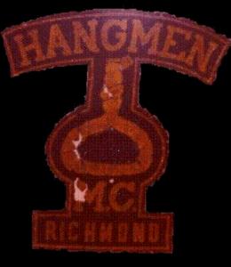 Hangmen MC Patch Old Original