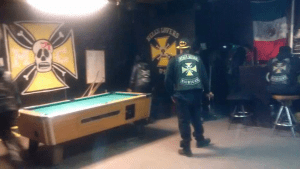 Hells Lovers MC Clubhouse Detroit Michigan Inside