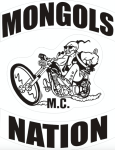 River Run Riot Mongols MC Patch Logo