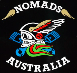 Nomads MC Patch Logo