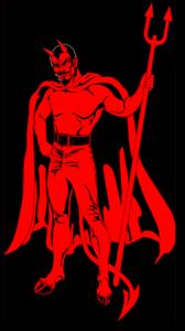 Original Red Devils MC (Motorcycle Club) - One Percenter Bikers