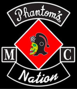 Phantoms MC Patch Logo