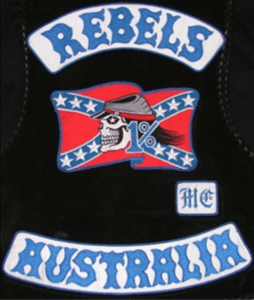 Rebels MC Patch Logo