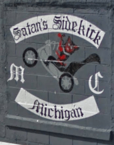 Satans Sidekick MC Patch Logo