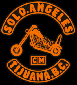 Solo Angeles de Motocicletas Patch Logo Solo Angels MC