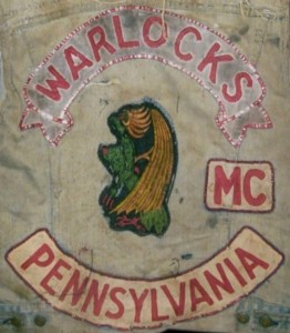 Warlocks MC Patch Logo Pennsylvania