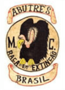Abutre's MC patch logo 2