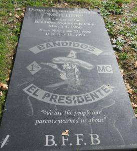 Donald Eugene Chambers Grave Stone