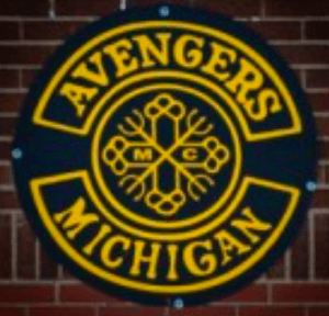Avengers MC patch logo