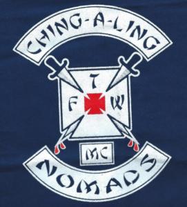 Ching-A-Ling MC Patch Logo