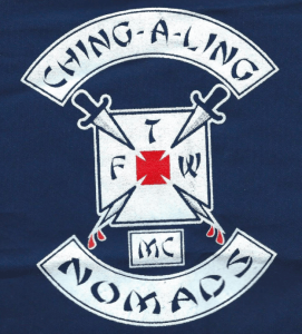 Ching-A-Ling MC Patch Logo