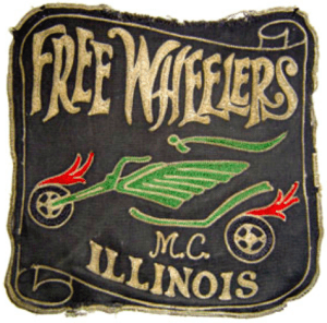 Freewheelers MC patch logo original northwest