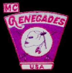 Renegades MC patch logo