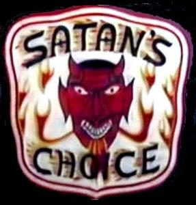 Satan's Choice MC patch logo