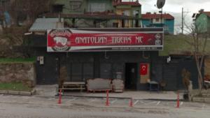 Anatolian Tigers MC clubhouse Uşak Turkey