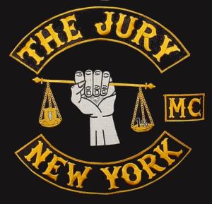 The Jury MC patch logo