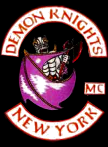 Demon Knights MC patch logo