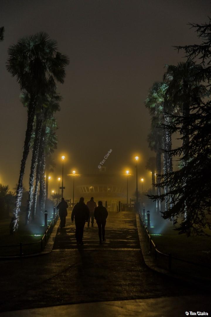 Bournemouth Gardens in the Mist.