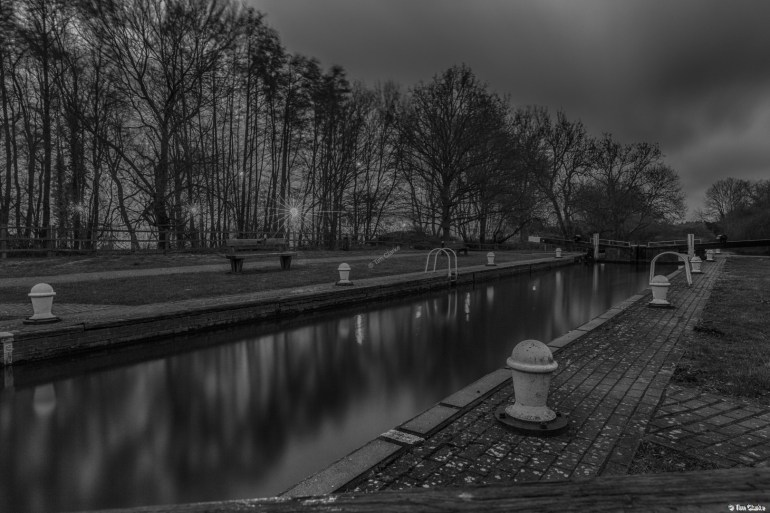 Recycling Centre and Padworth Lock.