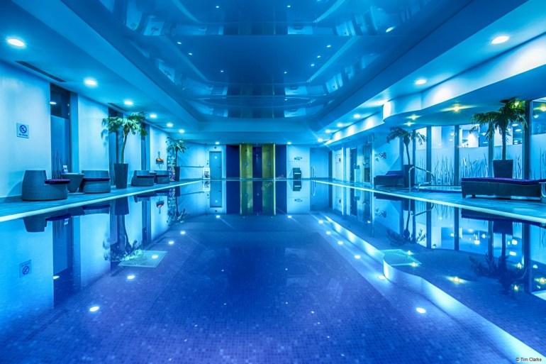 Crowne Plaza Reading Swimming Pool.