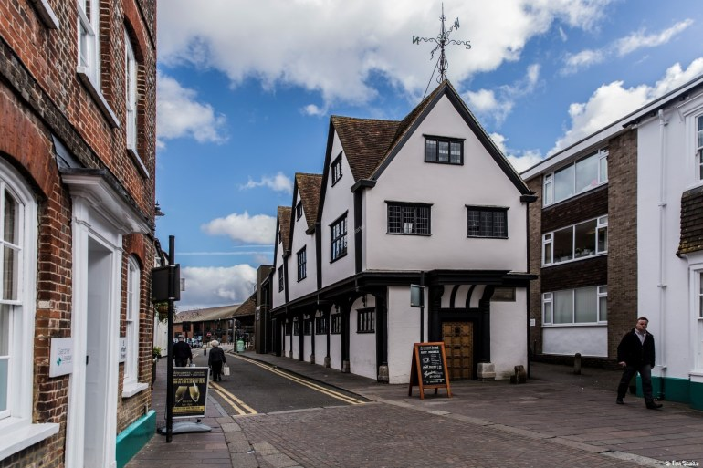 Old Cloth Hall, Newbury. Now part of the West Berkshir Museum.