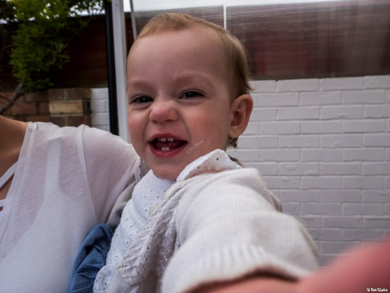 Birthday Girl: Fun and Laughter on her 1st Birthday.