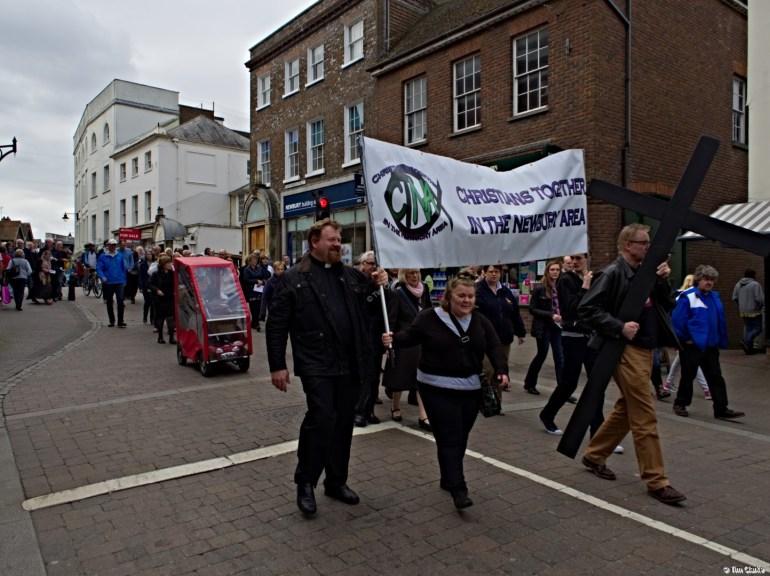 Good Friday Walk of Witness: Newbury Town Centre.