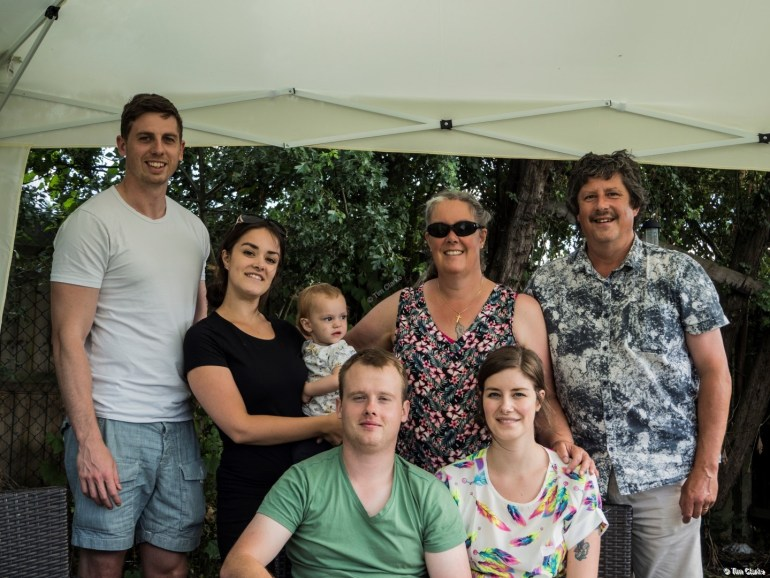 Family Portrait: Group Photo in the Garden.