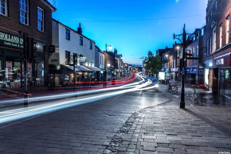 Northbrook Street: Once the Main Road through Newbury.