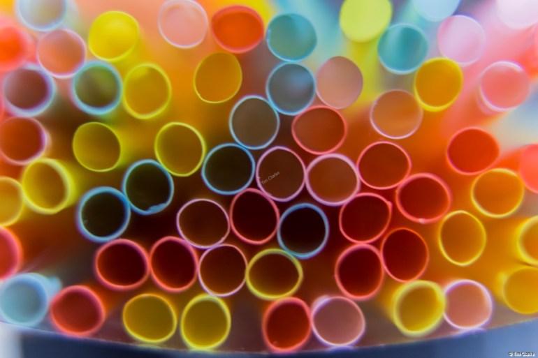 Straws: Blaze of Colour.