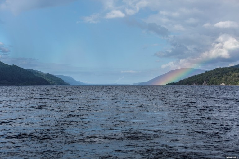 Loch Ness: Unusual Sighting - and it's not the Monster!