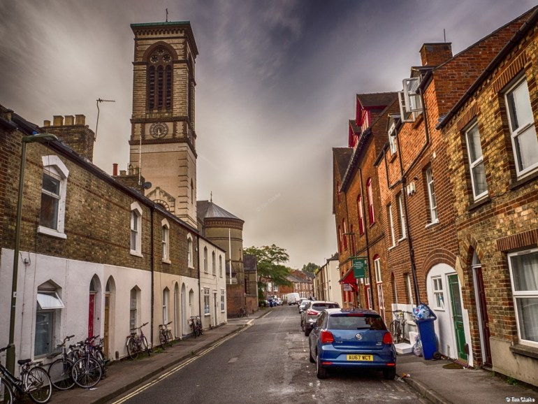 Jericho, Oxford: Looking down Canal Street.