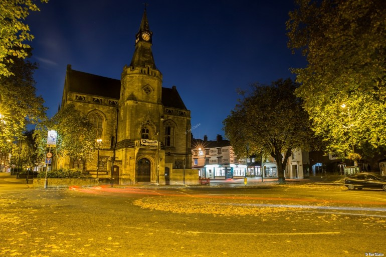 Banbury Town Hall: Gothic Splendour in the Blue Hour.