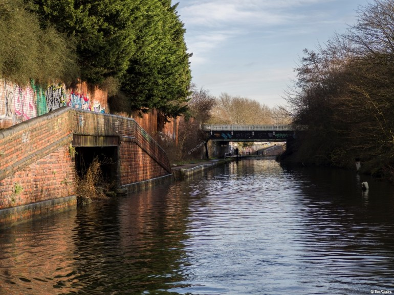 Canal Basins: Signs of busier times in the past.