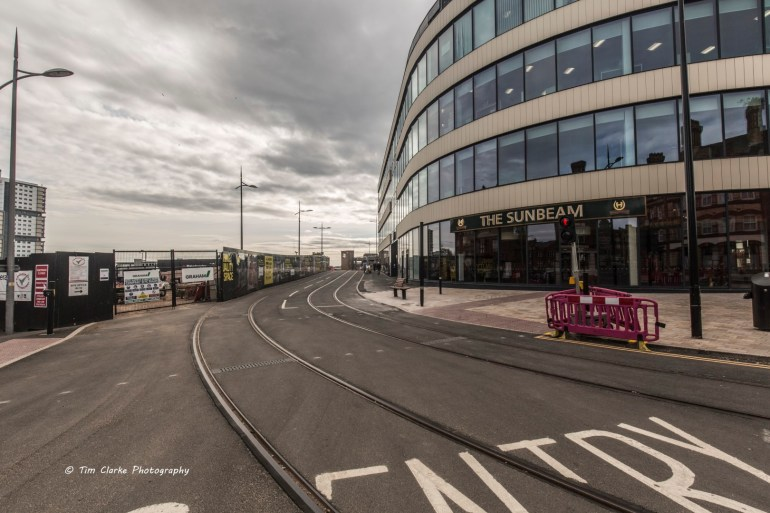 Tram Lines, Railway Drive, Wolverhampton