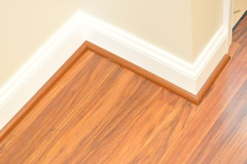 How to Install a Floating Laminate Floor   One Project Closer Step