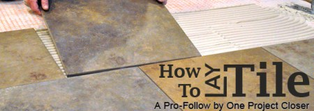 How to Level a Subfloor Before Laying Tile   One Project Closer tileheader2  subfloor1  Tile Subfloor  Thickness  Deflection      Installing