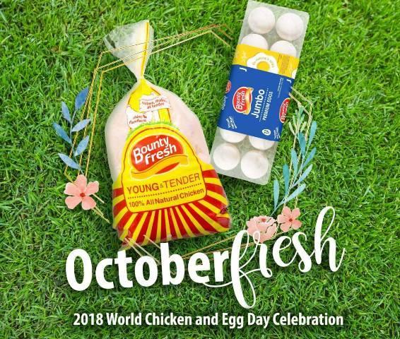 Bounty Fresh World Chicken and Egg Day 2018