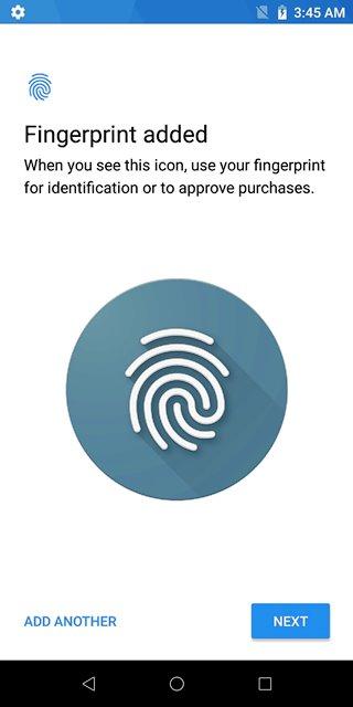 ASUS Zenfone Max Pro M1 Fingerprint Scanning