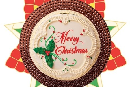 Goldilocks Christmas Cake