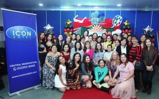 Mommy Bloggers Philippines Successful Christmas Party at the ICON Hotel Timog