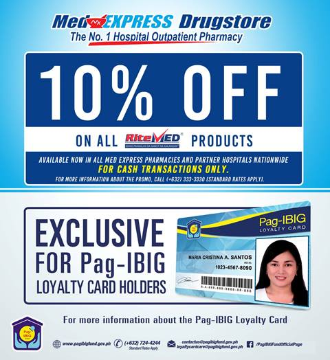 Pag-IBIG Loyalty Card Discounts