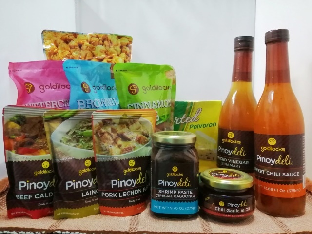 Goldilocks PINOYDELI and SWEET TREATS Line - Your Balikbayan Basics