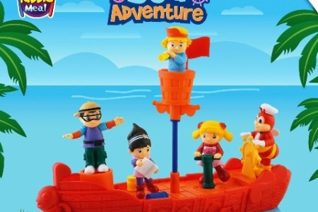Jollibee Sea Adventure Toys