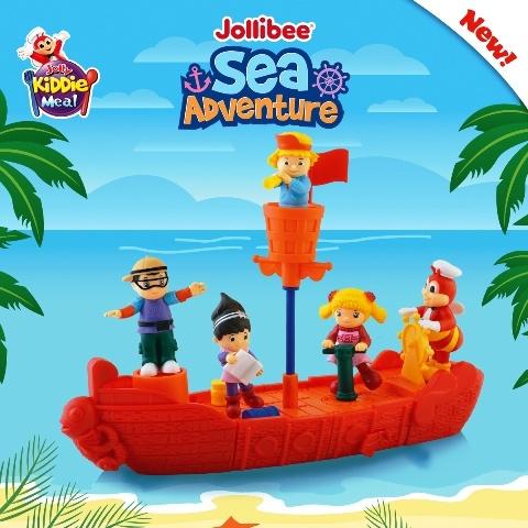 Jollibee Sea Adventure Toys