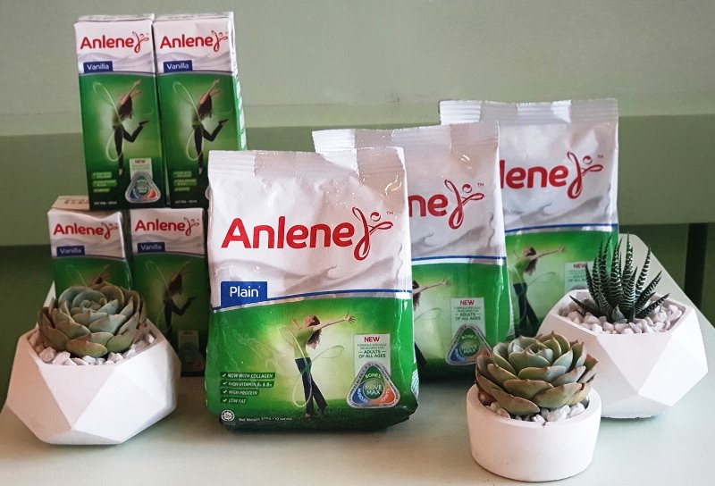 Anlene with Collagen Can Help Fight Premature Ageing
